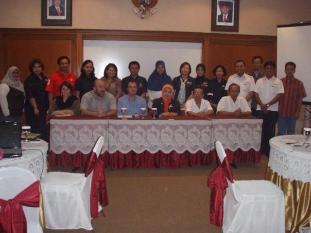 Foto bersama pembukaan Lokakarya Nasional CBHFA
