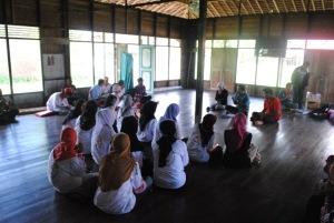 relawan kelurahan pulau kupang