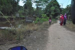 perjalanan untuk monev di Pulau Kupang