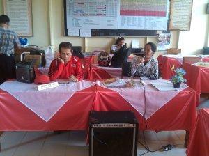 Kepala Sekolah SMAN-2 Kuala Kapuas Memberikan Sambutan