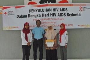 Foto bersama Anggota Rutan dan KPA juga Relawan PMI