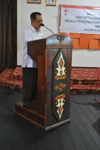 Bapak Agung Suyatno memberikan ucapan terimakasih