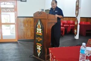 Bapak Nahason Tawai (Ketua PMI Provinsi Kal-Teng)