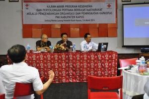 Diskusi Kapasitas Organisasi PMI