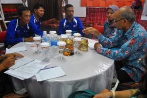 Perwakilan Relawan Desa Terusan Raya
