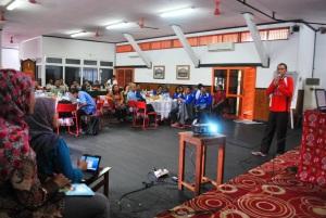 presentasi Nordianyah (relawan Cabang)