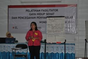 Fasilitator pelatihan uji coba KPPBM Modul 8