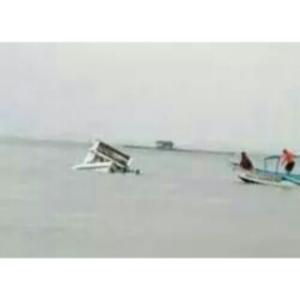 Ferry tenggelam ditengah sungai kapuas
