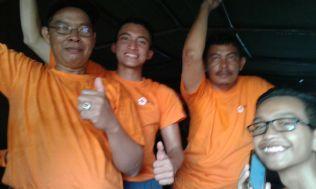 Dari Bandara ke lokasi Jumbara pakai truk Pangdam VII / Wirabuana