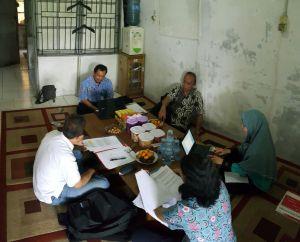 Bimtek di Markas PMI Kabupaten Kapuas