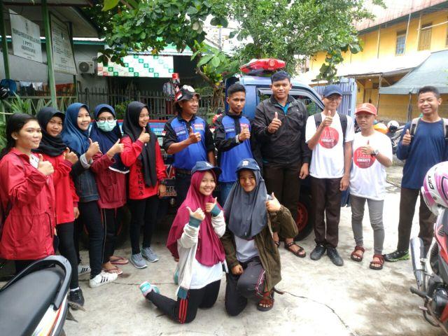 Foto Bersama Rekan BALAKAR 545 yang mensupport transportasi kegiatan ini