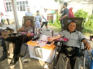 Suasana Donor Darah